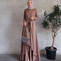Gamis Muslimah Wanita Cowok Pesta/Baju Kondangan/Couple Kapel/ Oz.maxy