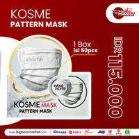 Masker Kosme Pattern Mask isi 50 pcs