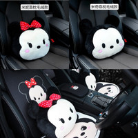 Bantal Sandaran Punggung Jok Mobil Mickey Minnie Tsum Tsum Disney