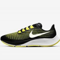 Sepatu Lari nike Zoom Pegasus 37 Yellow Kuning Black Original 100%