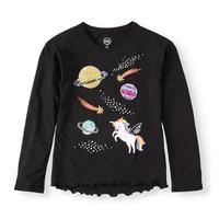 Atasan Kaos Baju Anak Remaja Perempuan Cewek Unicorn Umur 4-18 Tahun