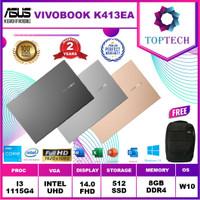 ASUS K413EA AM351TS AM353TS - i3 1115G4 8GB 512ssd W10+OFFICE 14.0FHD