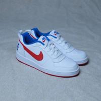 Sepatu Original Murah Nike Court Borough White Red Blue
