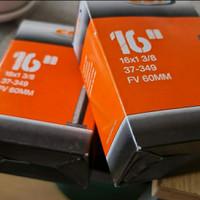 Ban Dalam Cst 16 x 1 3/8 349 presta 60mm not deli united kenda