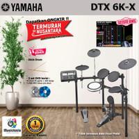 Yamaha DTX6K-X Drum Elektrik / DTX6KX / DTX 6KX / DTX-6KX / DTX 6 KX