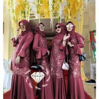 Baju Kondangan Muslim Wanita Cowok/Couple Kapel/ MAXY DUYUNG DYG