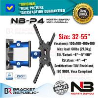 Bracket TV Swivel North Bayou NB P4 32-55 Inch