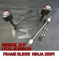 Frame Slider Pelindung Fairing AVP Ninja 250 Fi Lama