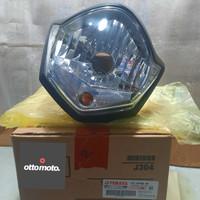 Reflektor Lampu Depan Headlamp Vixion New 2010 Lancip Original Yamaha