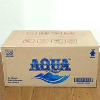 Air Mineral Aqua Botol Mini - 330 ml (Khusus Gojek/Grab)