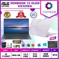 Asus Zenbook UX325EA OLED551 - i5 1135G7 8GB 512ssd IrisXe W10+OFFICE