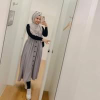 COD Baju wanita cewe muslim hijab remaja kuliah kerja kondangan