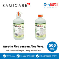 Hand Sanitizer ONEMED Aseptic Plus with Aloe Vera - 500 ml