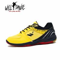 Willdance 38-44 Smash Jump / Sepatu Olahraga Badminton Sport Yellow