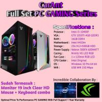 PC Full Set | Intel Core i5-10400F | GTX 1050 Ti 4GB | 16GB RAM | NVme