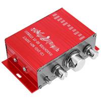 Amplifier Mini Audio Mixer Power Stereo Speaker 2 channel 20W port RCA