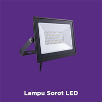 Ecolink Lampu Sorot LED Flood Light FL007 100W 6500K - Putih
