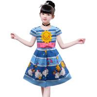Two mix Baju Anak Perempuan / Dress Anak Cewek Motif Matahari 3992