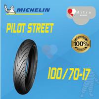 BAN LUAR MICHELIN 100/70-17 PILOT STREET TUBELESS