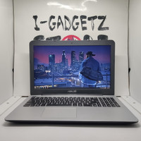 Laptop Gaming Asus X555Q AMD A12 Radeon R7+R5 12GB 128GB+1TB Mulus