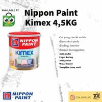 Nippon Paint Cat tembok Kimex 4,5kg All Colors