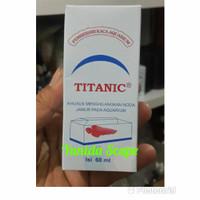 Pembersih kerak kaca aquarium titanic 60 ml