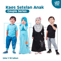 Baju Harian Anak Couple Laki Laki Perempuan Kaos Anak Lucu Hoofla Kids
