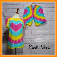 Baju Bali / Setelan Pelangi Bali Murah Adem / Baby Doll Bali