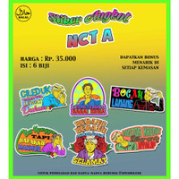 Stiker Angkot NCT (Baca Deskripsi)