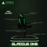 Apex Warrior Gladius One Premium Gaming Chair Kursi Gaming - Hijau