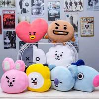 Bantal Boneka BTS Bahan Yelvo Kualitas Premium Ukuran L
