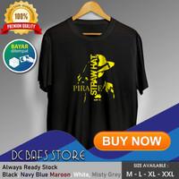 Baju Kaos Oblong Tshirt Terbaru Premium Anime Strawhat 01 - Putih, M