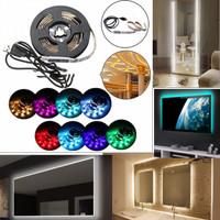 Lampu LED Roll Background Belakang Tv Kaca Cermin // Strip + Control