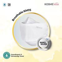 KOSME MASK BREATHABLE KM95 - Masker Medis Nano Silver