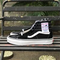 Sepatu Vans Sk8-Hi Tapered Black White 100% Original Resmi PT Navya