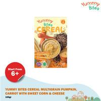Yummy Bites Cereal Multigrain Pumpkin Carrot 120 gr