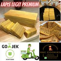 Kue Lapis Legit Spesial Wisman Premium Homemade (Pilihan 2 Jenis Khas)