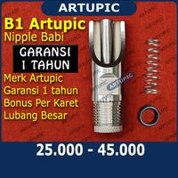 Nipple Babi B1 ARTUPIC Nipel nepel nippel Alat Minum Babi Kambing