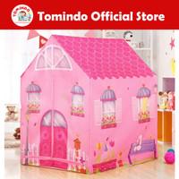 Tomindo Tenda Anak Rumah PINK - mainan tenda rumah rumahan