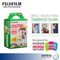 Fujifilm Instax Mini Film Refill 2x10 Sheets Double Pack White