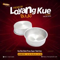Loyang Kue Premium bolu cake pan Bulat Press Kualitas Super Tebal