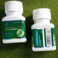 Spirulina Plus Tablet Green World/Obat Gemuk/Obat Penambah Berat