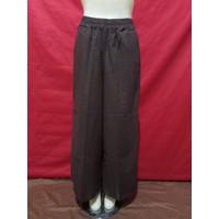 Celana Kulot Bahan Katun Cigaret Size XXL - XL - Cokelat, XL