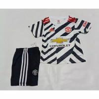Stelan Jersey Baju Bola Kids Kid Anak MU Manchester United 3rd 2021 GO