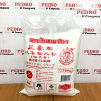 Erawan Tepung beras Thailand / rice flour MERAH (600 gr)