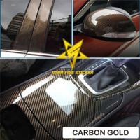 Skotlet Sticker Motor Karbon Kevlar Gold