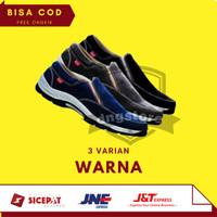 Sepatu Casual Pria Slip On Kickers Tracky Suede 3 Colour Murah Grosir