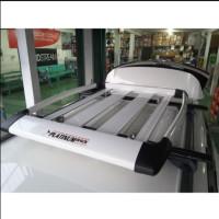 Roof Rack Bagasi atas mobil Alumunium Merk Platinum Rack