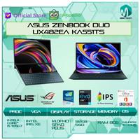 Asus Zenbook Duo UX482EA KA551TS Touch i5 1135G7 8GB 512ssd IrisXe W10