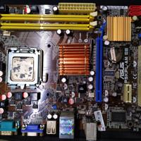 Mobo Motherboard G31 Merk Asus P5KPL DDR2